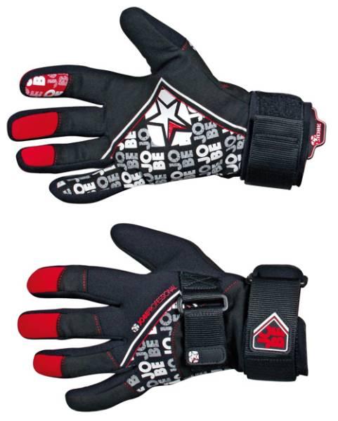 Wakeboard/Wasserski-Handschuhe Größe S, schwarz/blau Bekleidung Bootsport
